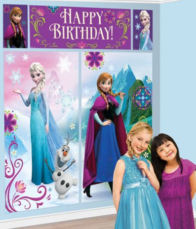 Disney Frozen Wall Decorations - Pack of 5