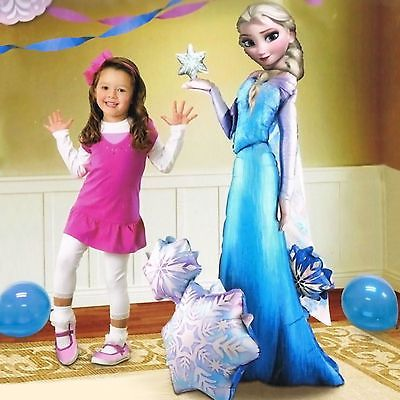Click to view product details and reviews for Giant Disney Frozen Elsa Airwalker Foil Balloon 144m.