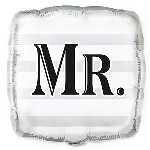 Mr Foil Balloon - 17.5""