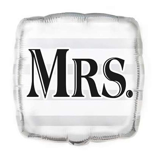 Mrs Foil Balloon - 17.5""