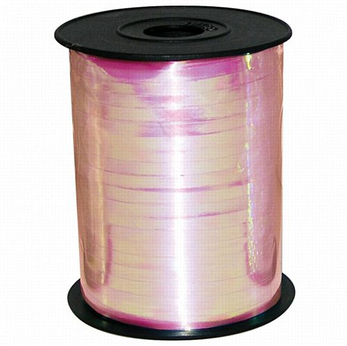 Iridescent Pink Balloon Ribbon - 230m