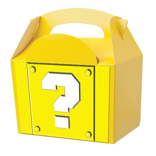 Video Game Mystery Block Party Box Kit - 15cm - Pack of 4