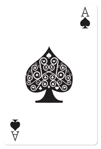 Ace of Spades Playing Card Cardboard Cutout - 1.54m