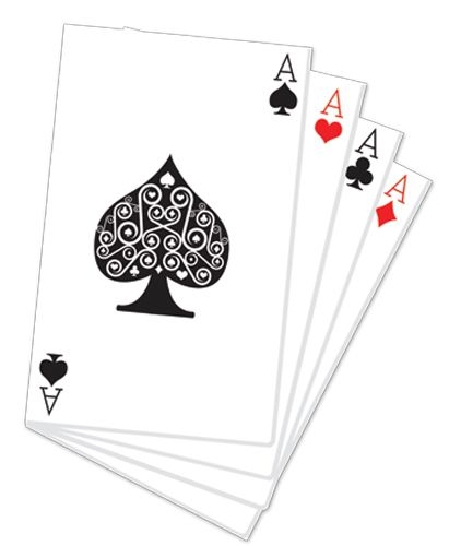 Hand of Playing Cards Cardboard Cutout - 1.52m