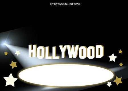 Hollywood Placecards- Pack of 8