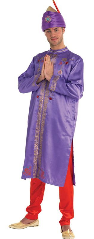 Adult Bollywood Star Male Costume