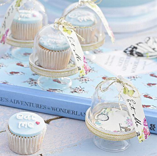 Truly Alice Curious Cake Domes - Pack of 6