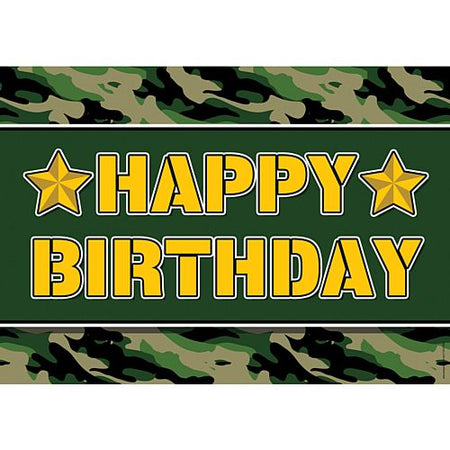 Click to view product details and reviews for Army Happy Birthday Poster A3.
