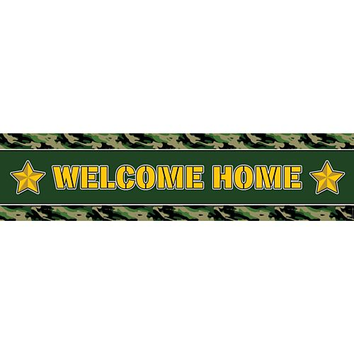 Army Welcome Home Banner - 1.2m