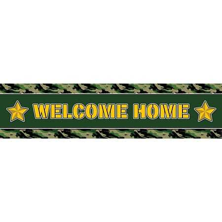 Army Welcome Home Banner 12m