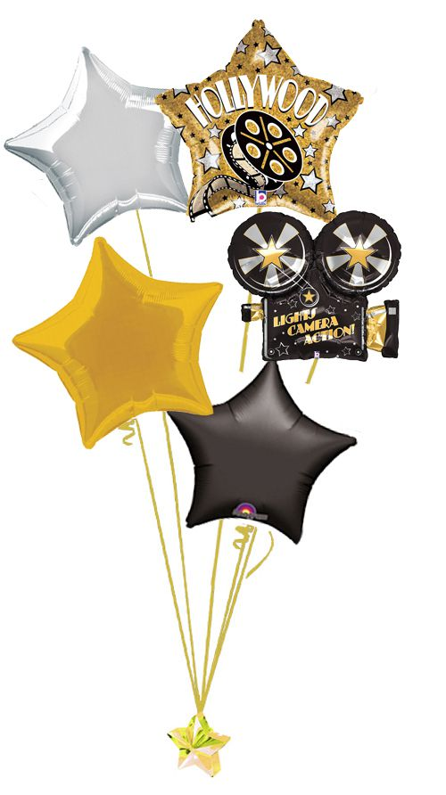 Hollywood Balloon Bouquet