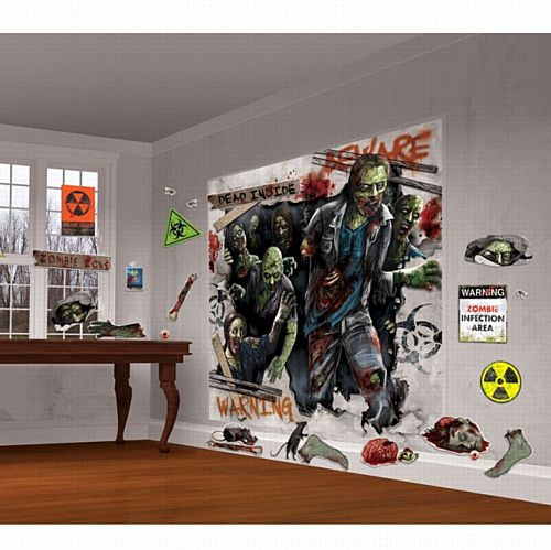 Zombie Decorating Kit - Pack of 32