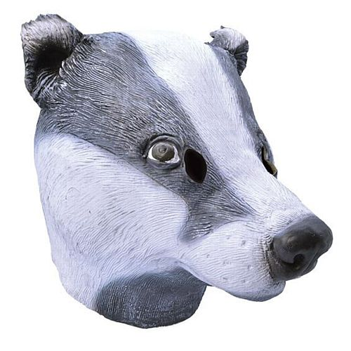 Rubber Badger Mask