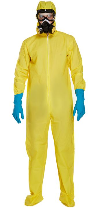 Yellow Hazmat Suit Breaking Bad Costume
