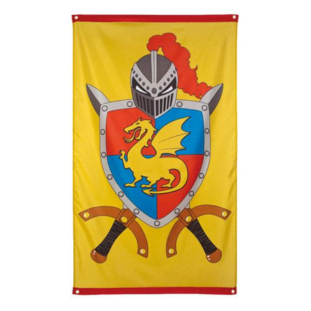 Knights And Dragons Flag 15m