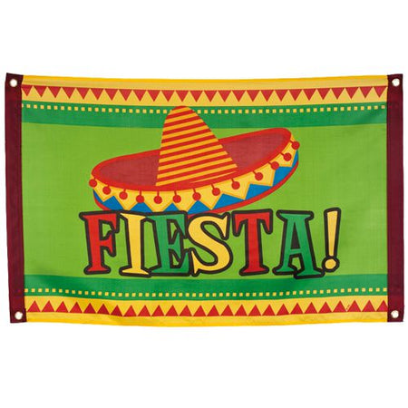 Fiesta Cloth Flag - 90cm