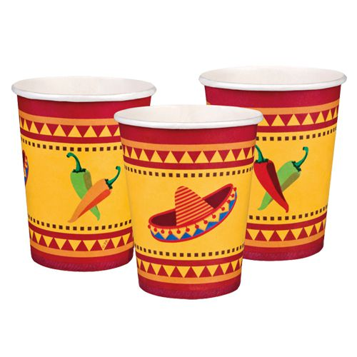 Fiesta Cups - 25cl - Pack of 6