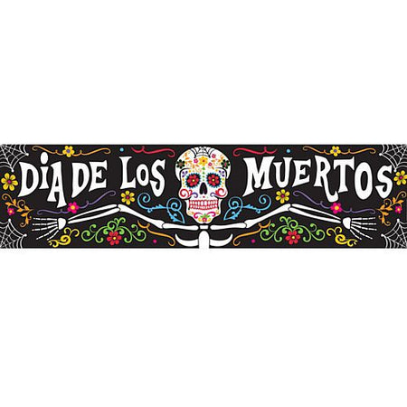 Day of the Dead Banner - 1.2m
