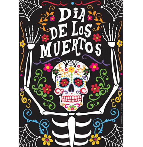 Day of the Dead Poster - A3