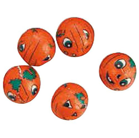 Click to view product details and reviews for Net Of Chocolate Pumpkin Balls 15cm Balls 75g.