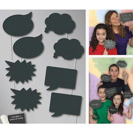Chalk Photo Props - Incl. Chalk - Pack of 8