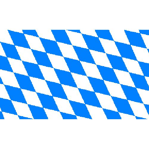 Bavaria Polyester Fabric Flag 5ft x 3ft