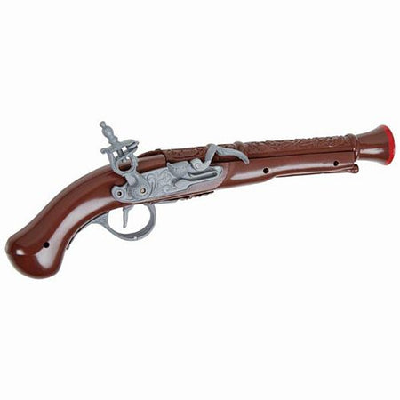 Brown Plastic Pirate Pistol