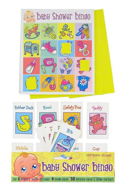 Click to view product details and reviews for Baby Shower Bingo Game.