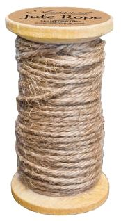Jute String on Wooden Spool- 15m