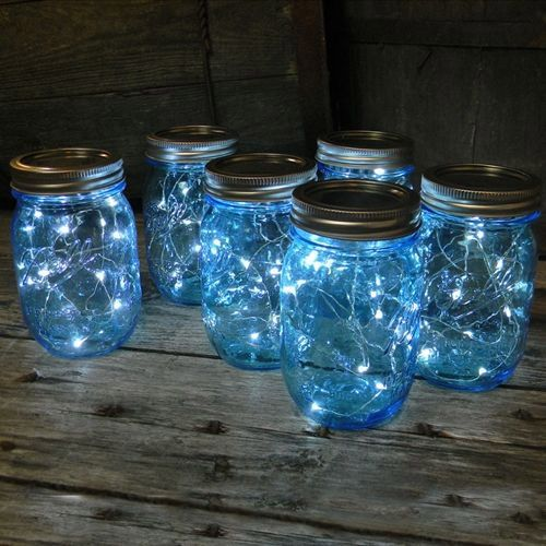 Blue LED Fairy Lights - Set of 20 - 3.5M