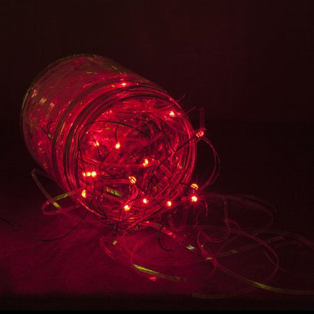 Red LED Fairy Lights - Set of 20 - 3.5m