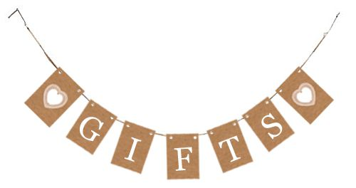Rustic 'Gifts' Card Bunting Kit