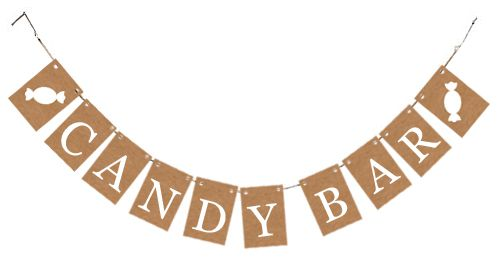 Rustic 'Candy Bar' Card Bunting Kit
