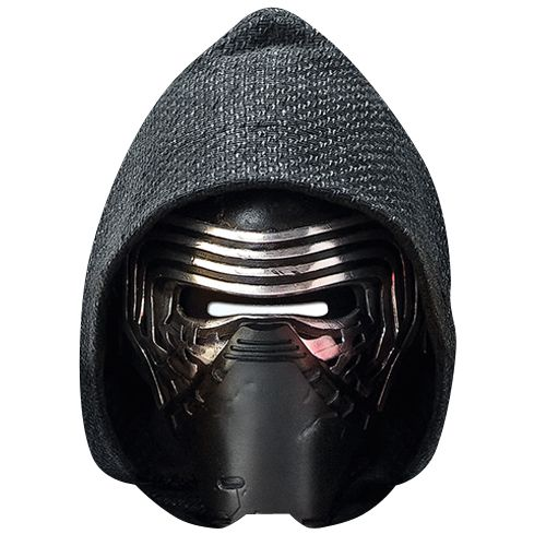 Star Wars The Force Awakens Kylo Ren Card Mask