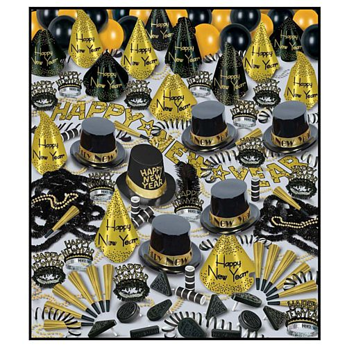 Golden Bonanza - Hat and Novelty Party Pack for 100