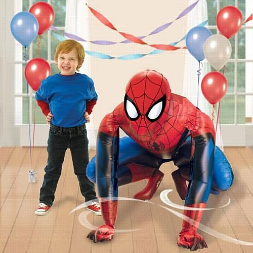 Spider-Man Giant 3D AirWalker Foil Balloon - 91cm