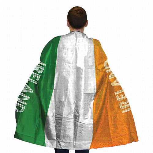 Ireland Flag Body Cape