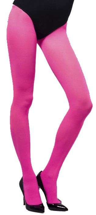 Opaque Pink Tights