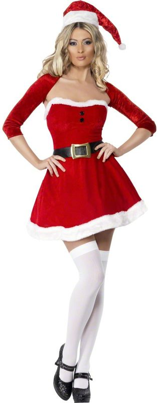 Fever Santa Babe Costume Large