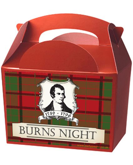 Tartan Party Box Kit - Pack of 4