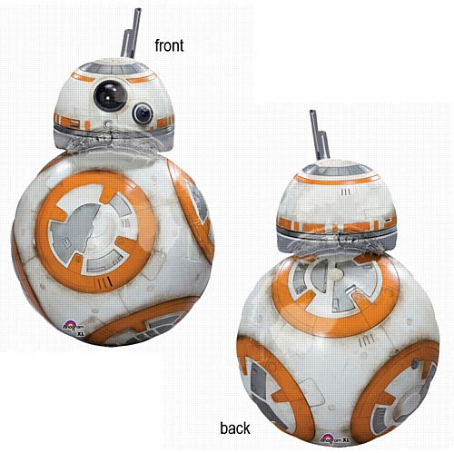 Giant Star Wars The Force Awakens BB-8 Supershape Foil Balloon - 83.8cm