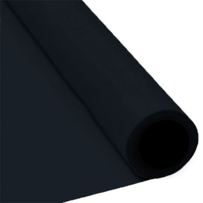Black Paper Table Roll - 8m