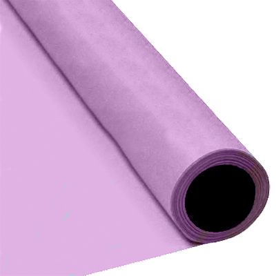 Lilac Paper Table Roll - 8m