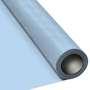 Light Blue Paper Table Roll - 8m