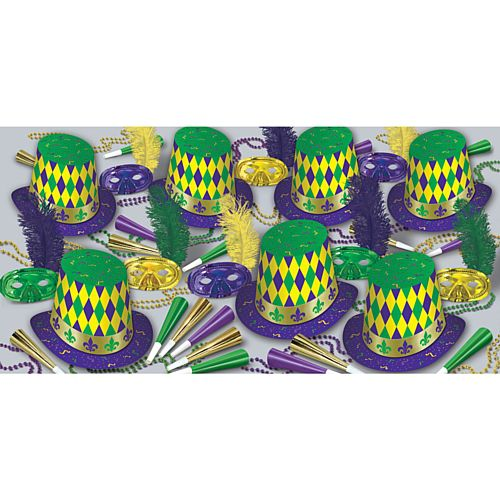 Mardi Gras Party Assortment For 50