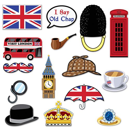 British Selfie Kit - 29.2cm - Pack of 15