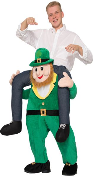 Piggy Back Leprechaun Costume