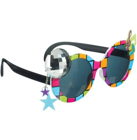 70's Disco Glasses
