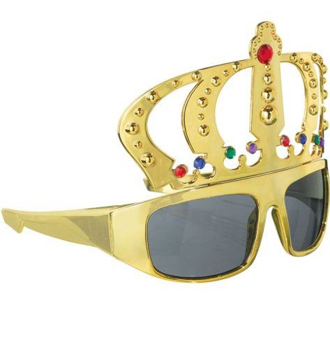 Gold Crown Glasses