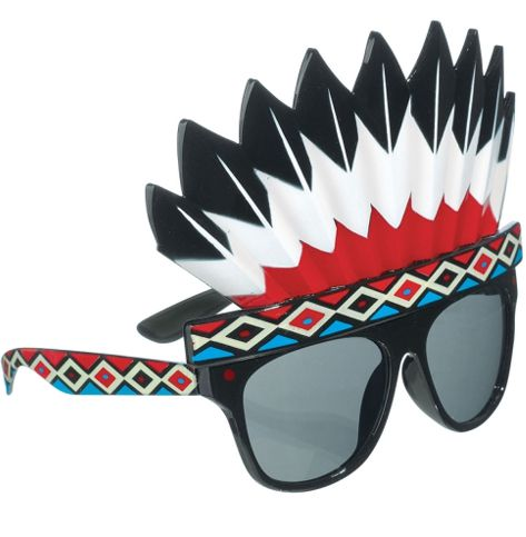 Indian Headdress Glasses